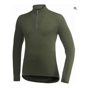 MAILLOT WOOLPOWER ULLFROTTE® COL ZIP MANCHES LONGUES 200g