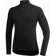 MAILLOT COL ZIP MANCHES LONGUES 200g ULLFROTTE WOOLPOWER®