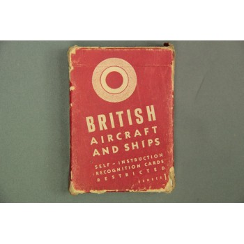 BRITISH AIRCRAFT AND SHIPS SELF-INSTRUCTION RECOGNITION CARDS