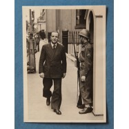M. Felix Gouin walking past...