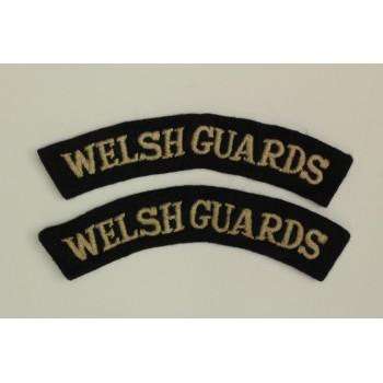 Titres d'épaules Welsh Guards (La paire)
