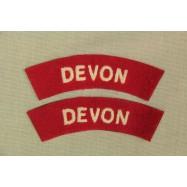 Titres d'épaule Devon (La...