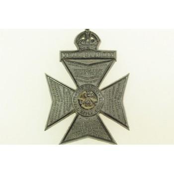 KING'S ROYAL RIFLE CORPS PLASTIQUE 1944