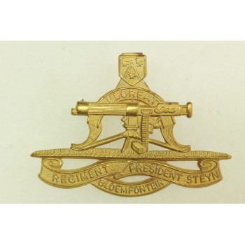 REGIMENT PRESIDENT STEYN (MACHINE GUN) SOUTH AFRICA