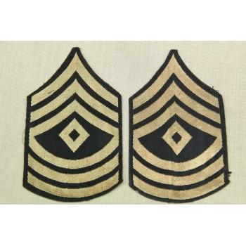 GRADES DE FIRST SERGEANT US ARMY 2ème GM