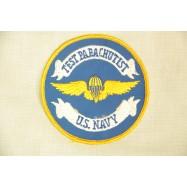 US Navy Test Parachutist