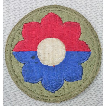9th Infantry Division (Green back)