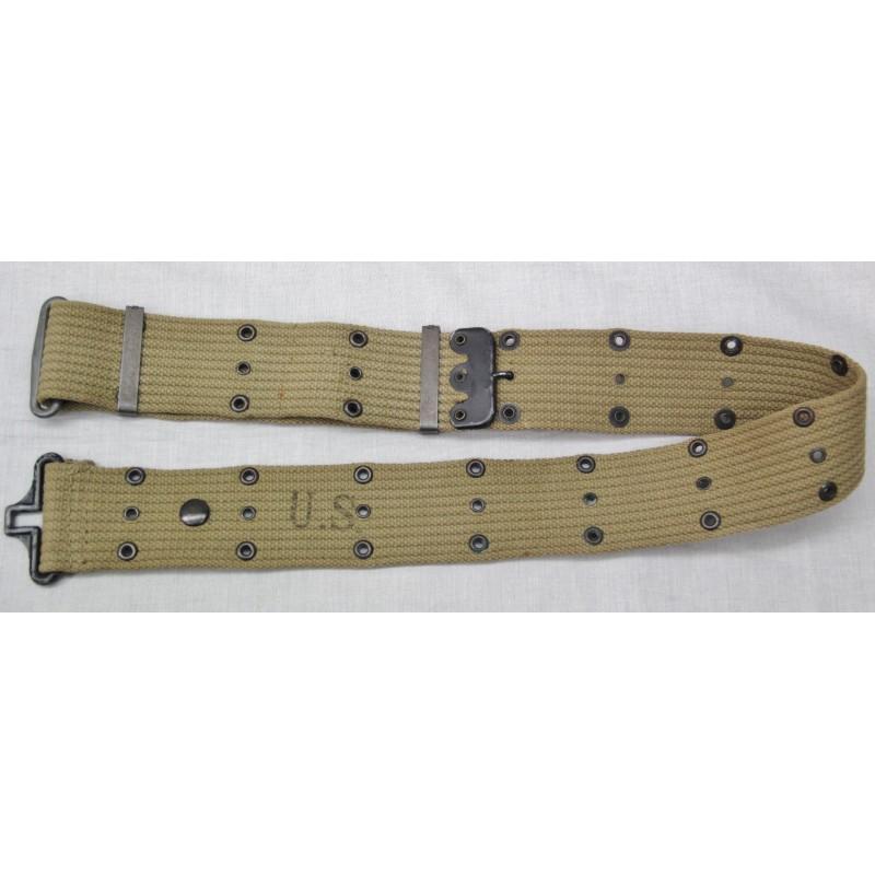 CEINTURON TOILE M-1936 US ARMY 2ème GM 6ff52d54548