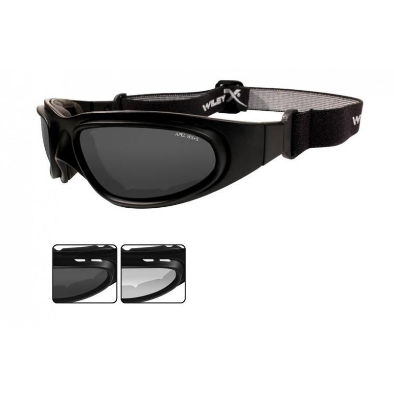f1801eca55fdf1 Les lunettes balistiques Wiley-X SG 1 possèdent des verres en polycarbonate traitées  anti-buée et anti-rayures. La monture, souple et indéformable, ...