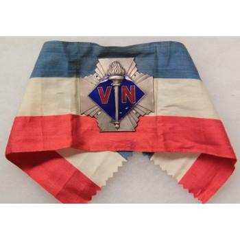 BRASSARD DES VOLONTAIRES NATIONAUX 1933-1936