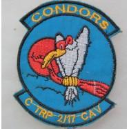 """INSIGNE TISSUS """"CONDORS C..."""