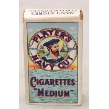 PAQUET DE CIGARETTES PLAYER'S NAVY CUT GB 2ème GM