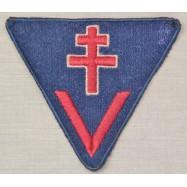 INSIGNE TRIANGULAIRE FFI 1944