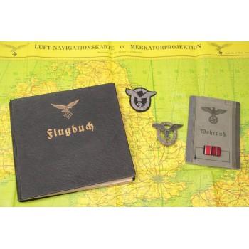 GROUPING D'UN PILOTE DE JUNKER JU 88 et JU 188 LUFTWAFFE 2ème GM
