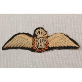 BREVET DE PILOTE ROYAL AIR FORCE 2ème GM