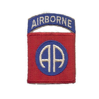 INSIGNE TISSUS 82nd AIRBORNE DIVISION REPRODUCTION