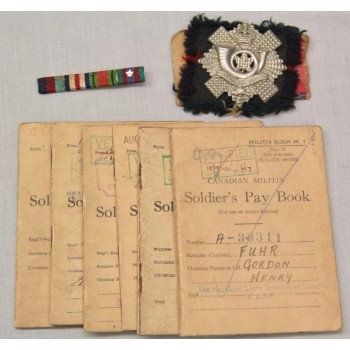 GROUPING HIGHLAND LIGHT INFANTRY of CANADA 3rd CANADIAN DIVISION 2ème GM