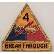 4th ARMORED DIVISION...