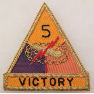 5th ARMORED DIVISION...