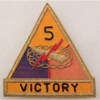 5th ARMORED DIVISION bullion made