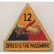 12th ARMORED DIVISION...