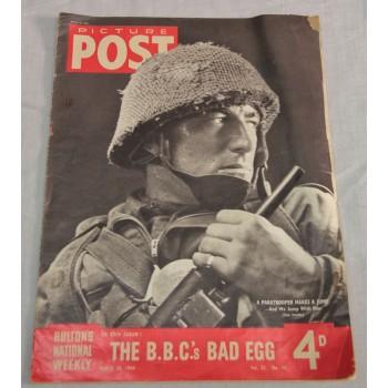 MAGAZINE PICTURE POST  PARAS GB 1944
