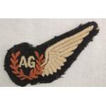 BREVET DE AIR GUNNER RAF...