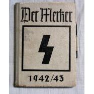 """AGENDA HJ """"DER MERKER""""1942/43"""