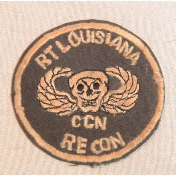 INSIGNE SPECIAL FORCES RT LOUISIANA US VIETNAM