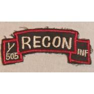 TAB RECON 1/505 INF US ARMY...