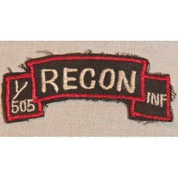 TAB RECON 1/505 INF US ARMY VIETNAM