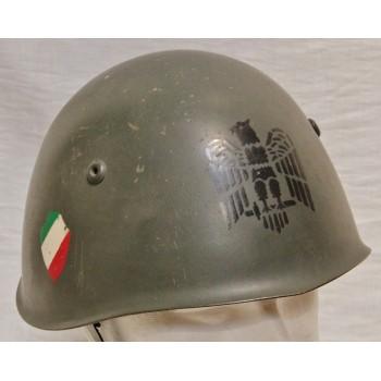 CASQUE ITALIEN M 1933 DE LA RSI 1943-45 - ITALIAN RSI M 1933 HELMET REPRO