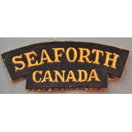 TITRE D'ÉPAULE SEAFORTH...