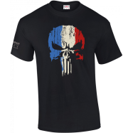 TEE-SHIRT PUNISHER 100 % COTON