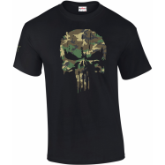 TEE-SHIRT PUNISHER WOODLAND...