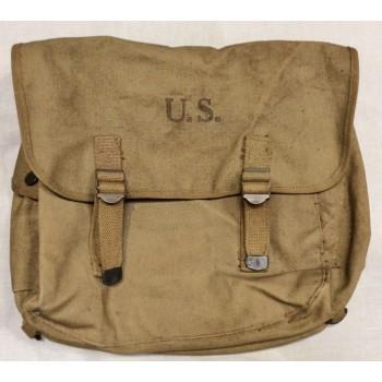 "MUSETTE M1936 ""VARIED MFG CO. 1942"" US 2ème GM. WW2 US ARMY MUSETTE BAG"