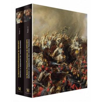 La Guerre Franco-Prussienne de 1870-1871. Coffret 2 albums