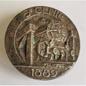 INSIGNE DU 5ème REGIMENT DU GENIE 1939/1940