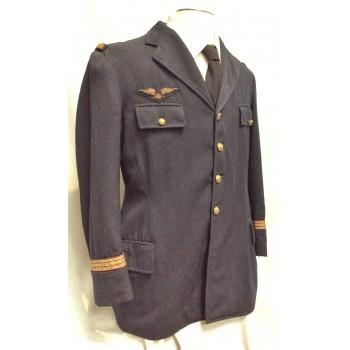 VESTE DE SERVICE D'UN CAPITAINE MÉCANICIEN ARMEE DE L'AIR 1939-40. WW2 FRENCH AIR FORCE OFFICER JACKET