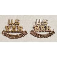 """TITRES D'ÉPAULES """"U.S. WAR..."""