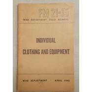 """MANUEL """"INDIVIDUAL CLOTHING..."""