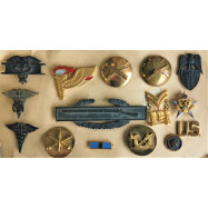 LOT DE 15 INSIGNES US ARMY