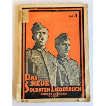 CARNET DE CHANTS DE LA WEHRMACHT 1939-1945