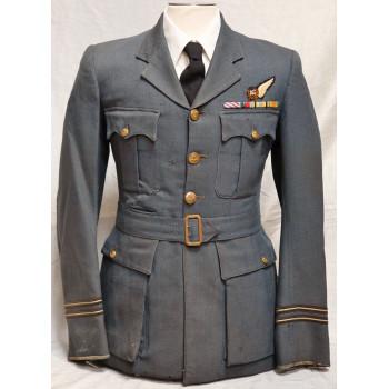 VESTE DE SERVICE D'UN OFFICIER MITRAILLEUR RAF 2ème GM