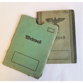 WEHRPASS WEHRMACHT  KOMMANDO OFFENBACH 1939-1945