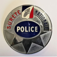 PLAQUE POLICE MOTARD DE LA...