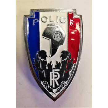 INSIGNE DE CASQUE POLICE NATIONALE ANNEES 40/60