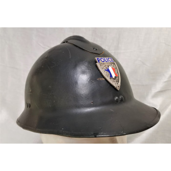 CASQUE ADRIAN POLICE NATIONALE ANNEES 45/50