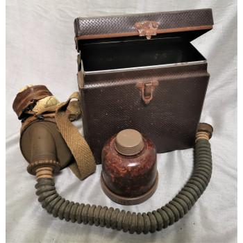 MASQUE A GAZ CIVIL FRANCAIS 1939-1945
