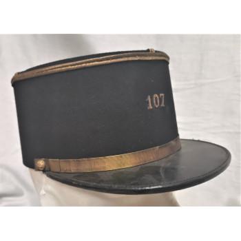 KEPI SOUS-OFFICIER 107ème REGIMENT D'ARTILLERIE 1939-1940